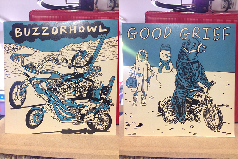 Buzz or Howl / Good Grief 7""